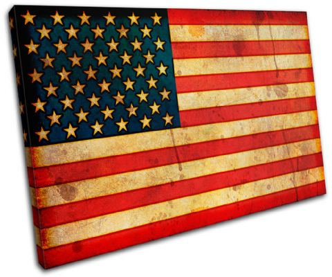 Abstract American Maps Flags - 13-1147(00B)-SG32-LO